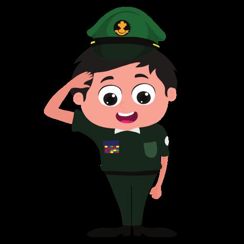 Toto à l'armée
